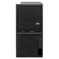Компьютер IRU Office 313 MT,i3 7100,8Gb,SSD120Gb,HDG630,Free DOS,черный 3598335